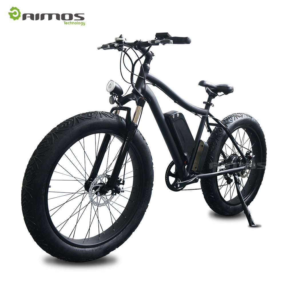 26 size 36v 10ah battery 7 speed fat tire electric bicycle