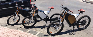 Italy customers sent us Ebike pictures