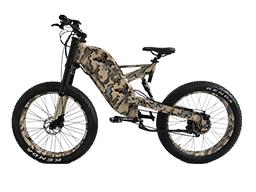 Aimos full suspension downhill mountain electric bike 3000w