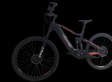 36v 250w carbon fiber mountain electric bike