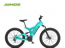 carbon fibre fat tire electric bike